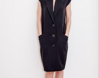 Oversized Dress/ Unique dress/ Casual dress/ Black dress/ modern dress/ formal dress/ minimalist dress