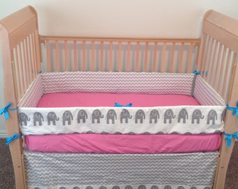 Elephant Baby Bedding - Crib Bedding - Custom Baby Bedding - Custom Crib Bedding - Baby Crib Bedding - Baby Bedding - Crib Set