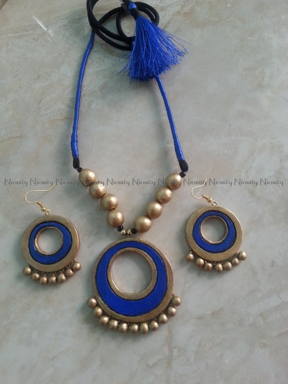 how to make thread earrings step by step in tamil