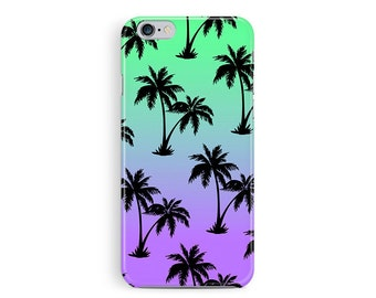 PALM TREE iPhone 5c Case, Sunset iphone Case, Sunset Phone Case, Hawaii Phone Case, Tropical iPhone Case, colourful pattern iphone 5c case