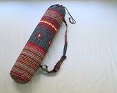 Free Shipping Worldwide!!Handmade Yoga Mat Bag With Shoulder Strap.Promotion only in February.