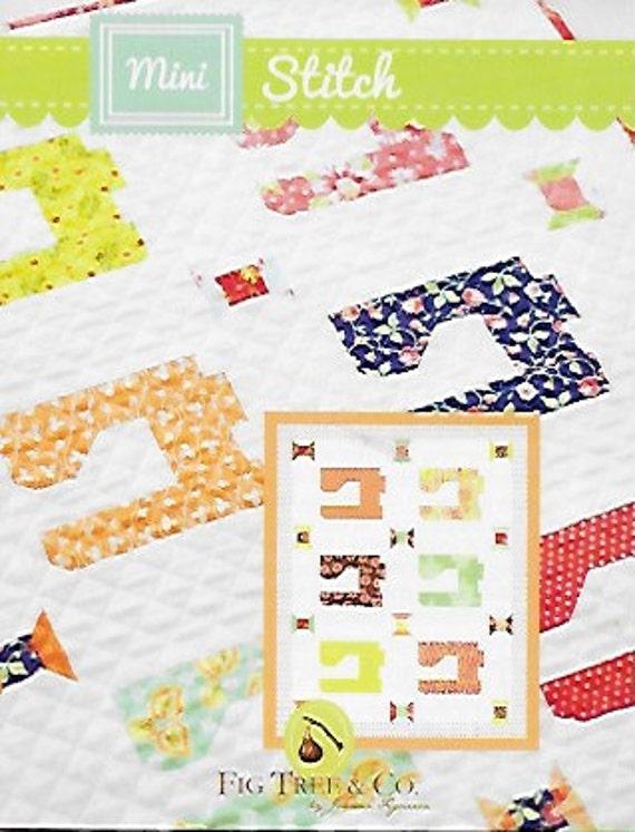 Mini Stitch Quilt Pattern Mini Quilt Pattern Sewing Machine