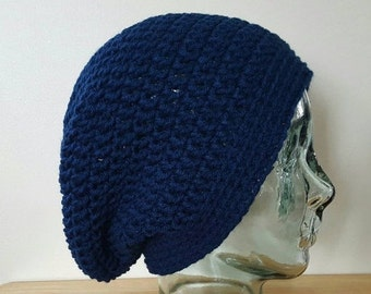 READY to SHIP - Crochet Slouchy Hat/Beanie/Beret/Crochet Slouch Hat/Women/Teens