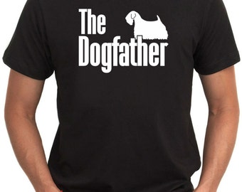 The dogfather Sealyham Terrier T-Shirt