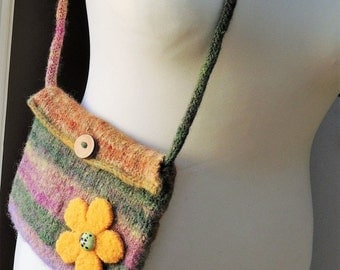 Felted Pure Wool Bag