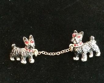 Vintage Scottie Dog Sweater Guard