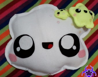 Kawaii Cloud with Stars plushie *2 types*