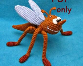 Mosquito, amigurumi crochet pattern