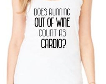 Does Running Out of Wine Count as Cardio? Tank