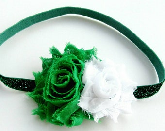 Baby Headband, Green Baby Headband, Green Headband, Newborn Headband, Toddler Headband, Baby Girl Headband, Toddler Headband, Baby Headbands