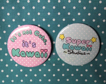 SuperKawaiiStudios Button Pack