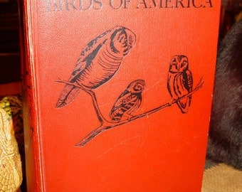 1936 BIRDS of AMERICA Pearson HC 106 Color Plates Louis Agassiz Fuertes Collier & Son