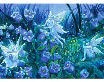 Small 5x7 Fairy Art Print