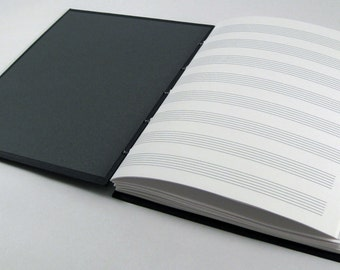Handcrafted Books Specializing in Music Journals. by PierrotPlus