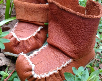 Wool lined Elf boots (Saami)