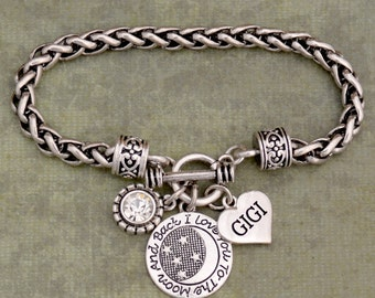 Love You To The Moon Gigi Clasp Bracelet - 57455
