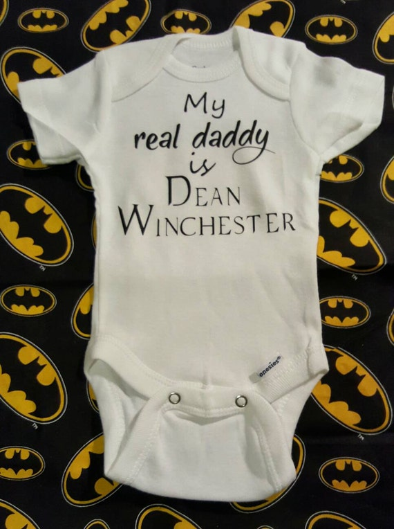 Supernatural Dean Winchester My Real Daddy By