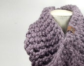 Big Bertha Cowel Scarf // Purple