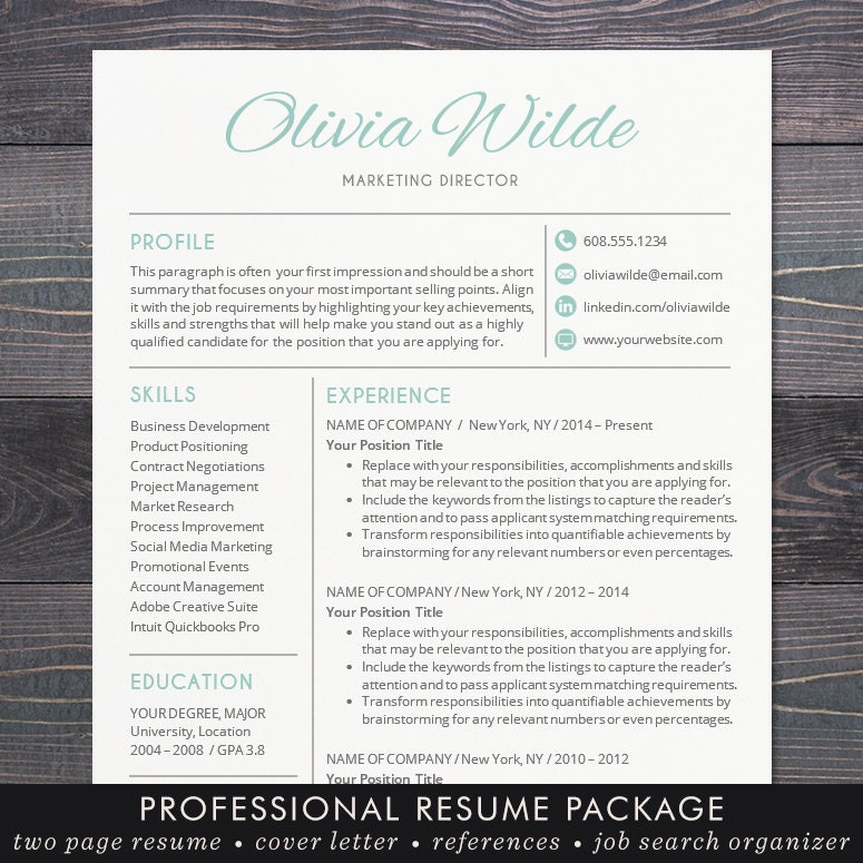creative resume template creative professional resume