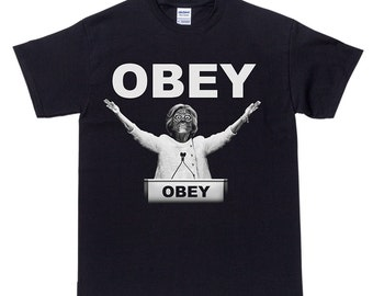 Vote Clinton They Live Obey Horror T-Shirt