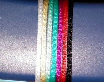 New Premium Cord with New color choice available! Price recently reduced! Nylon Cord & Breakaway Clasp