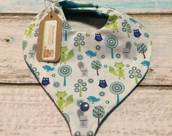 Woodland Friends Paci/Teether Bib