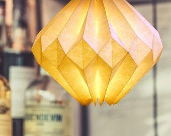 origami lamp: Vanilla Diamond