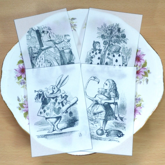 Edible Queen of Hearts Alice in Wonderland Set 3 ...