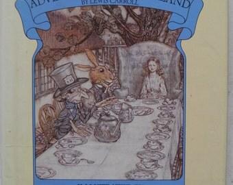 Alice's Adventures in Wonderland Lewis Carroll ill Arthur Rackham 1985 Hardback