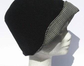 women's hat, handmade, cloche 20-30th, vintage,