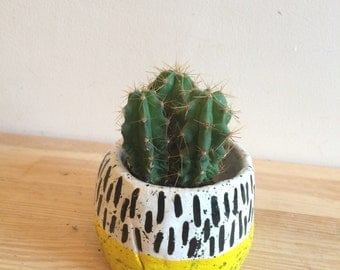 Supersized Handmade EL-AICH Plantpot Planter Ball Pot
