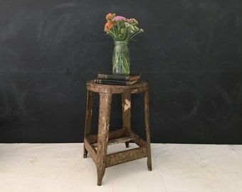 SALE - Stool - Vintage Metal Chair - Industrial Office - Metal Stool - Display - : vintage metal stool - islam-shia.org