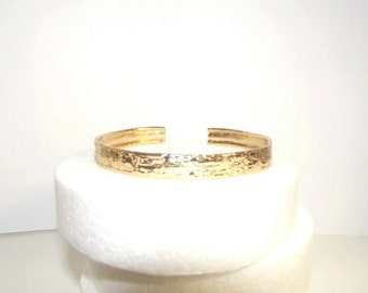 Bangle in sterling silver with gold bath