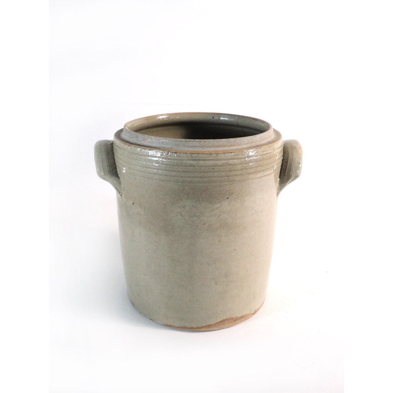 pot en gr s maill gris grand pot gris pot normand. Black Bedroom Furniture Sets. Home Design Ideas