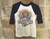 Willie Nelson - On the Road Again vintage raglan