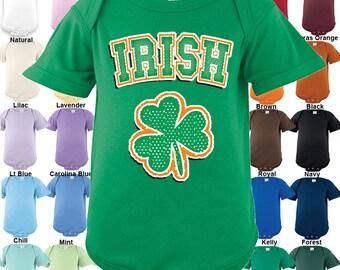 Irish - Shamrock - Bodysuit - Boys / Girls / St. Patrick's Day