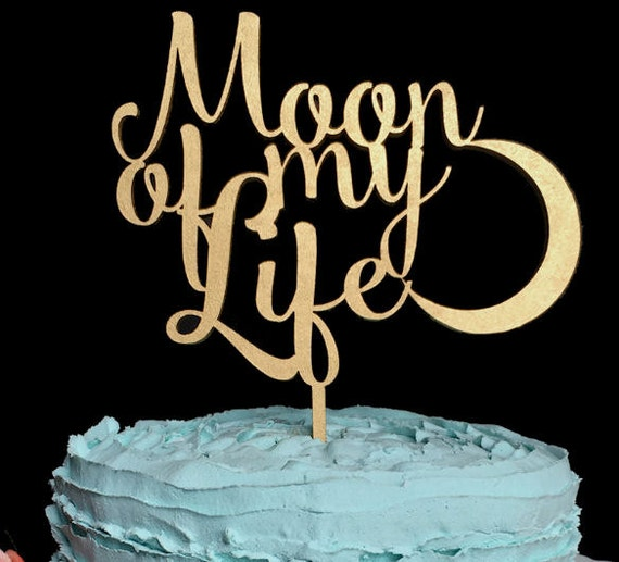 Moon Of My Life Cake Topper Game Of Thrones Wedding Cake