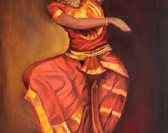 The classical dancer