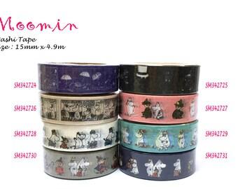 Washi Tape 4.9m Moomin