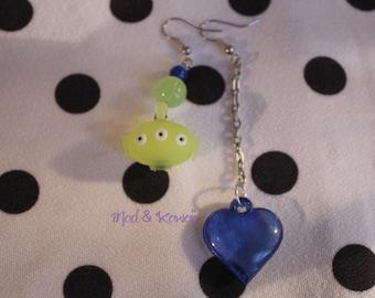 Earrings Alien Toy story