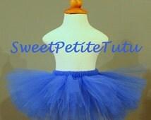 Royal blue tutu, blue tutu, dark blue tutu, Preemie, Newborn to 14/16 teen, Baby Tutu, Birthday tutu, photo prop, preemie tutu, newborn tutu