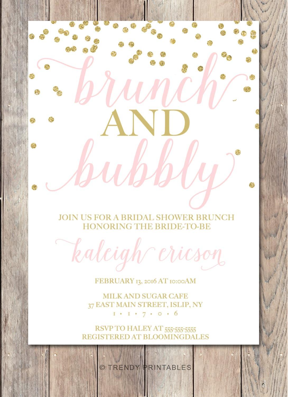 Bridal Shower Invitation Bridal Shower Invite By