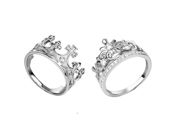 Claddagh Promise Rings For Couples Cheap