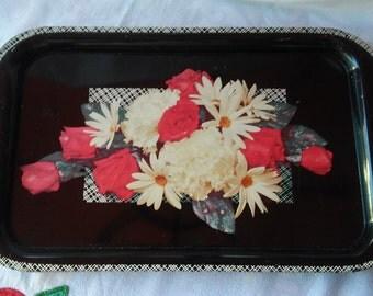 Vintage Rose TV Tray