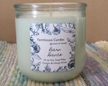 Barn Dance  - Farmhouse Candles - 10 oz Soy Candle - Brown Sugar, Sweet Fig