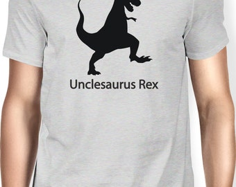 Unclesaurus Rex Shirt Baby Shower Gift Idea Brother Uncle to Be New Baby Pregnancy x-mas Dinosaur T-rex Trex Shirt Funny Tee Tshirt T-shirt
