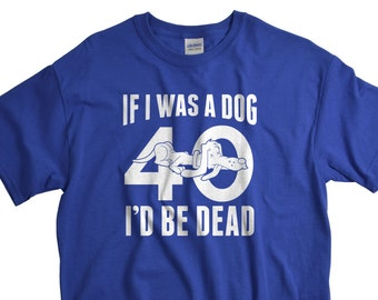40th Birthday Gift for Man - Forty Birthday shirt - Party shirt - 40 T shirt - Gifts for Husband or Dad