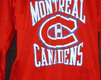 Montreal canadiens etsy for Decoration chambre hockey canadien