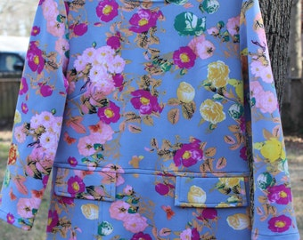 Floral Knit Blouse - The Aerial View
