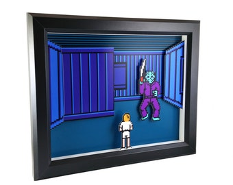 Friday the 13th (NES) Shadow Box